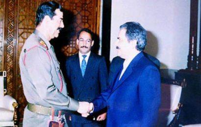 Rajavi-Saddam Hossein- Albania nejatyaftegan